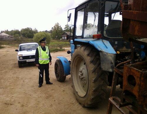 В Старицком районе пройдет надзорное мероприятие «Трактор»