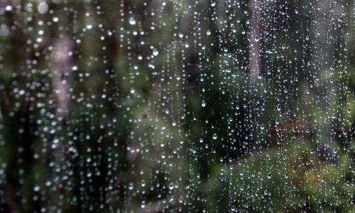 Осень придёт с сильным дождём