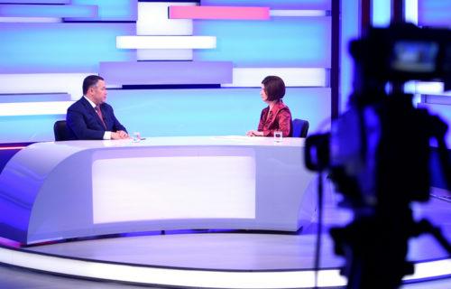 Губернатор Игорь Руденя поблагодарил жителей Тверской области за доверие и активное участие в голосовании