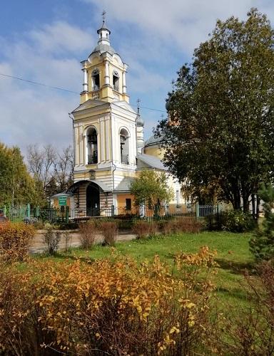 Ильинский храм октябрь 21