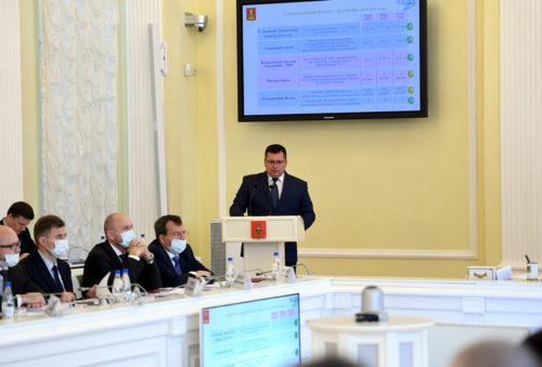 Реализацию в Тверской области национального проекта «Экология» рассмотрели на заседании Правительства региона