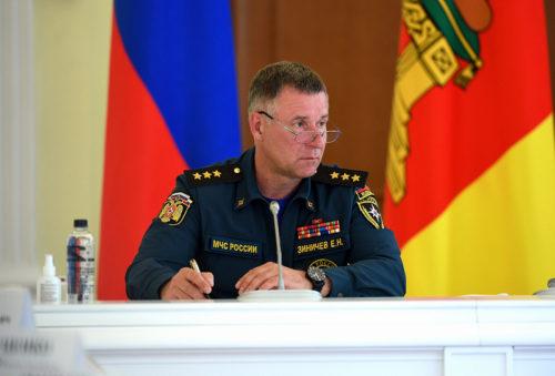 Губернатор Тверской области Игорь Руденя выразил соболезнования в связи с трагической гибелью главы МЧС России Евгения Зиничева