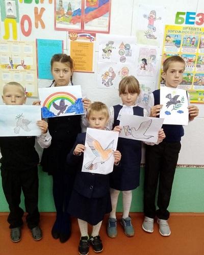 День солидарности в борьбе с терроризмом отметили в Луковниковской школе