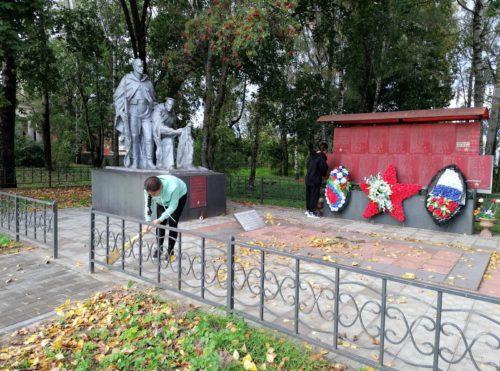 Степуринские школьники присоединились к Всероссийскому экологическому субботнику