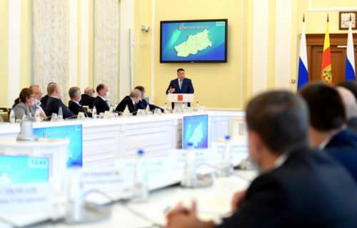 Игорь Руденя обозначил основные направления работы регионального Правительства и обновлённого депутатского корпуса областного парламента