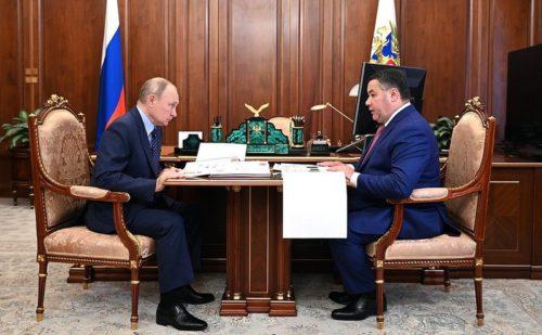 Игорь Руденя прокомментировал основные итоги встречи с главой государства