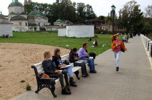 Для учеников и педагогов Детской школ искусств «Культурная суббота» прошла на пленэре