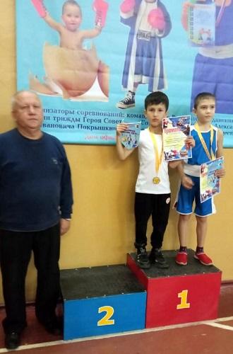 Блестящий дебют юных боксёров станции Старица