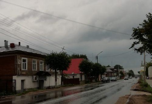Идут дожди…
